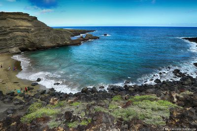 Der Papakōlea Green Sand Beach