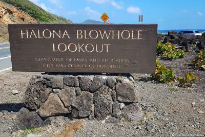 Halona Blowhole Lookout