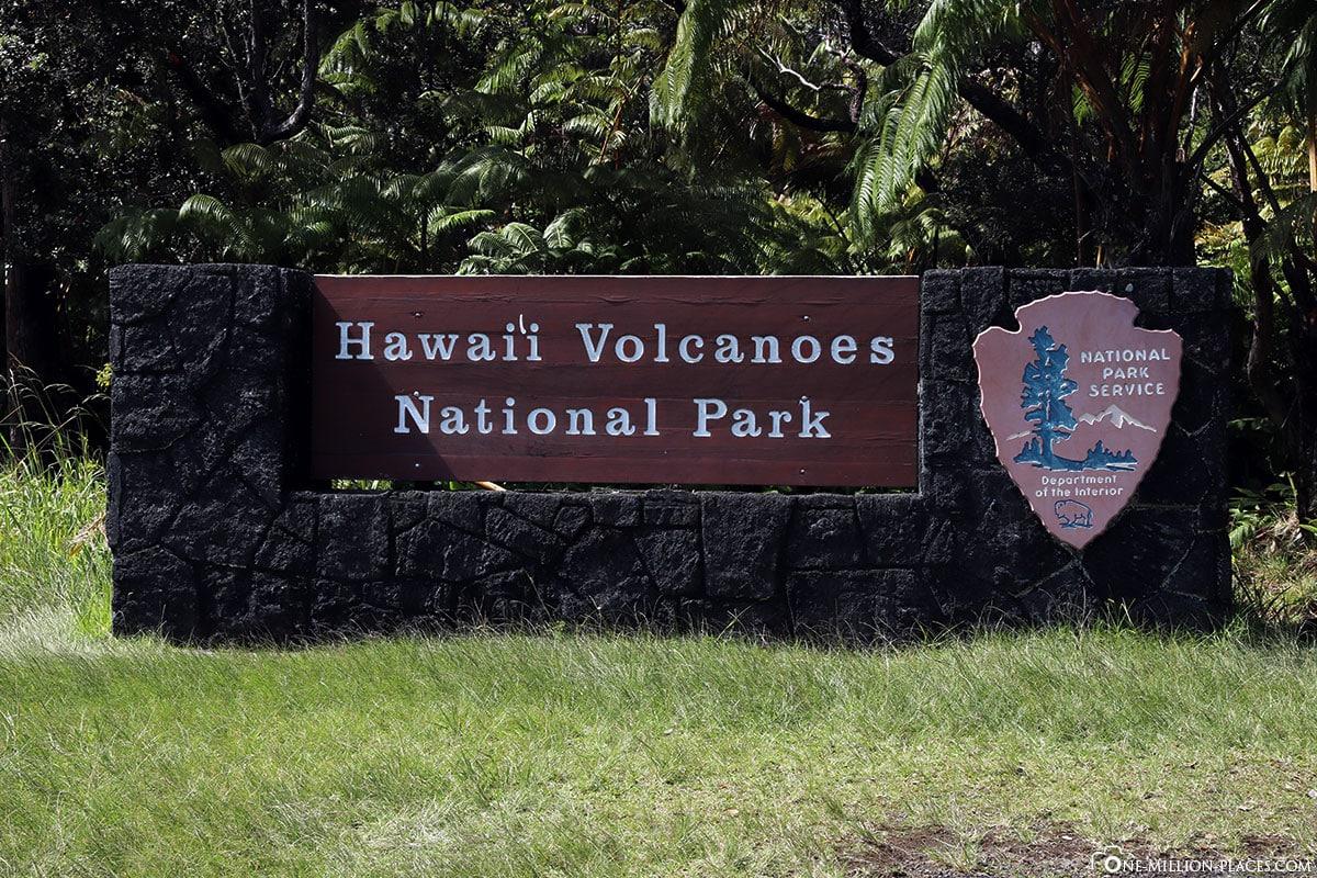 Hawaii Volcanoes National Park, Big Island, Hawaii, USA, Reisebericht