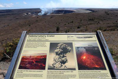 Der aktive Halemaʻumaʻu Krater