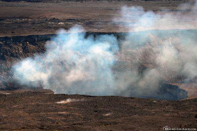Der Halemaʻumaʻu Krater