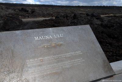 Mauna Ulu Vulkan