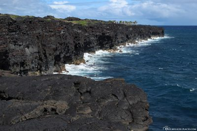 Die Südküste von Big Island