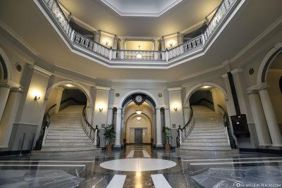 Das Foyer der Aliiolani Hale