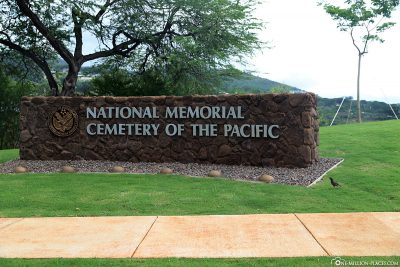 Entrance to the National Memorial Cemetery of the Pacific