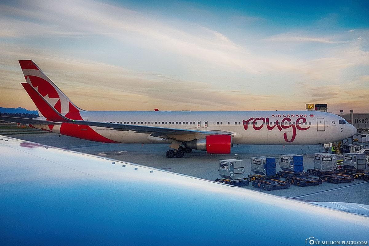 Air Canada rouge, USA, Hawaii, Oahu Island, Waikiki, Travelreport, Photo