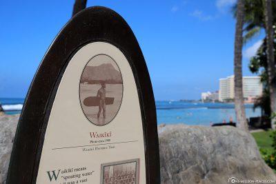 Waikiki Historic Trail