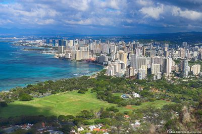 View of Honolulu & Waikiki