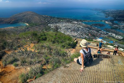 The great view from Koko Crater