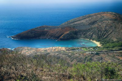 The view of Hanauma Bay