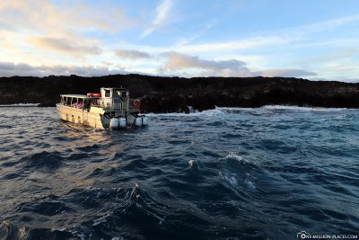 Lava Boat Tour on Big Island