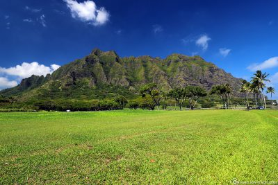 Kualoa Mountain