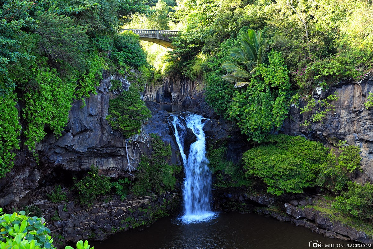 Seven Sacred Pools at Ohe'o, Road to Hana, Maui, Hawaii, USA, Travelreport
