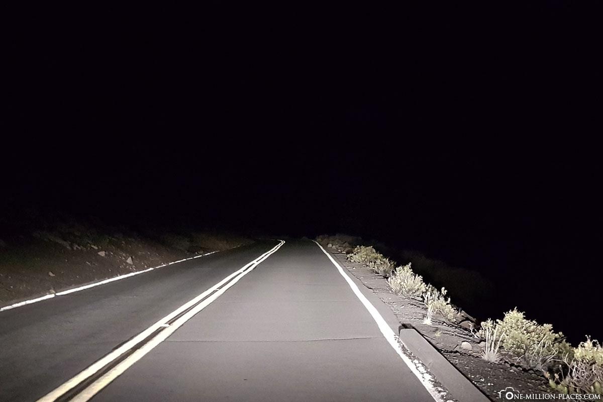 Haleakala Highway, Haleakala Nationalpark, Maui, Hawaii, USA, Reisebericht