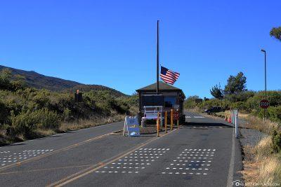 Haleakako National Park Summit Entrance