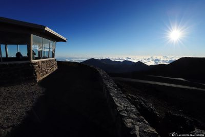 On the highest point of Haleakala
