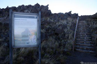 Der Kalahaku Aussichtspunkt
