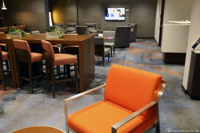 Die Concierge Lounge im Calgary Airport Marriott In-Terminal Hotel