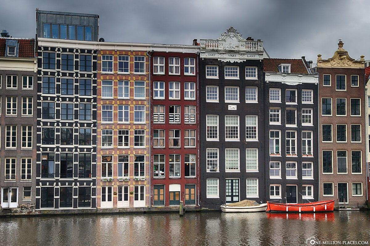 Bunte Häuser, Amsterdam, Sehenswürdigkeiten, Sightseeing, Best Places, Citytour, Fotospots
