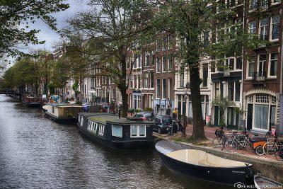 Die Grachten in Amsterdam