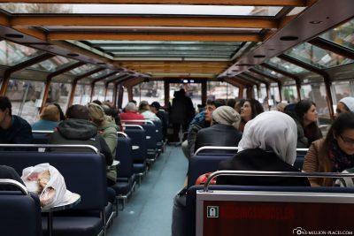 Grachtenfahrt mit der Blue Boat Company