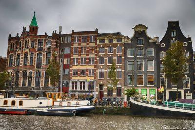Schöne Grachtenhäuser