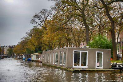 Hausboote auf den Grachten