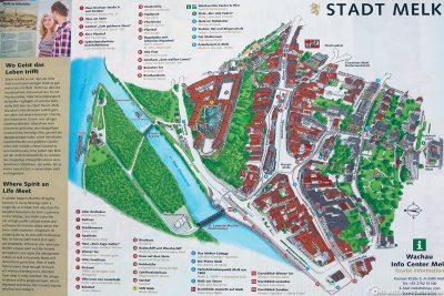 Map of Melk