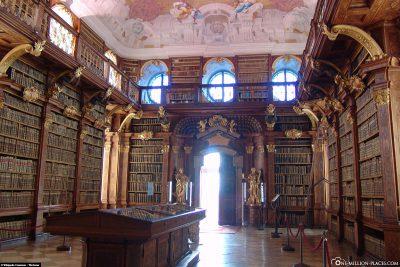 The Melk Abbey Library