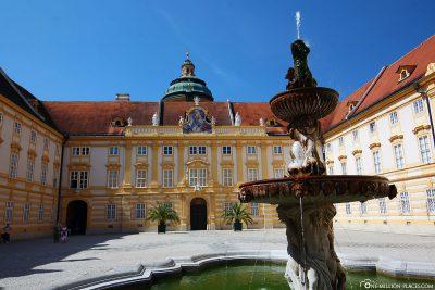 Fountain in the Prelate Court