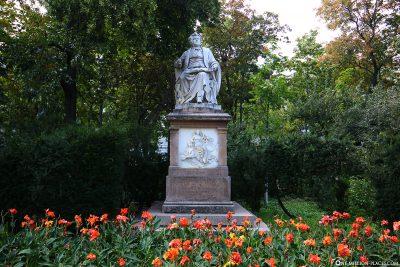 The Monument of Franz Schubert