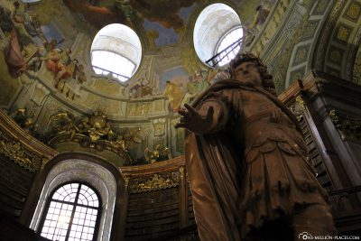 The Emperor's Statue with Dome Fresco