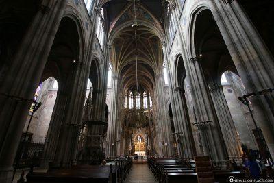 Interior view of the Votive Church