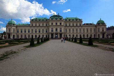 Das Schloss Belvedere