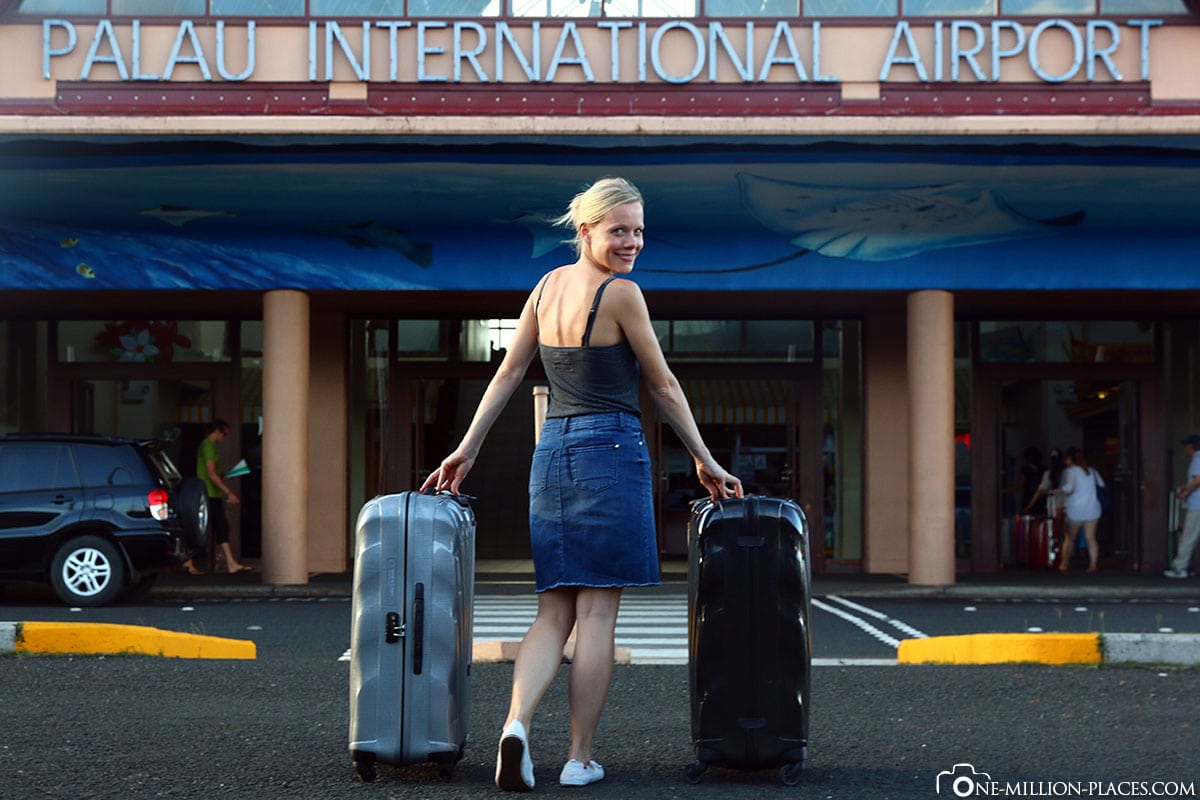 Ankunft, Flughafen Koror, Palau, Reisebericht