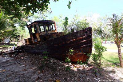 Ein altes Schiff
