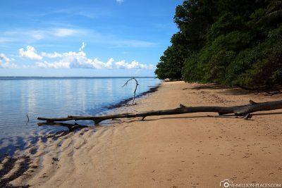 Der Orange Beach von Peleliu