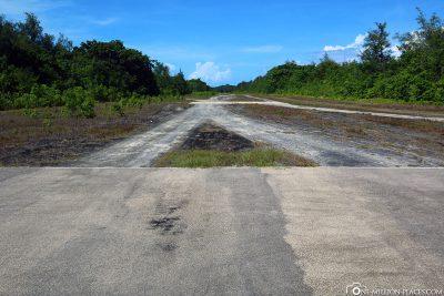 Der alte Flugplatz auf Peleliu