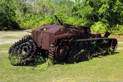 Alter Japanischer Panzer