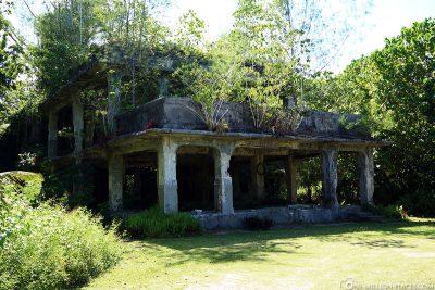 Das Japanische Hauptquartier auf Peleliu