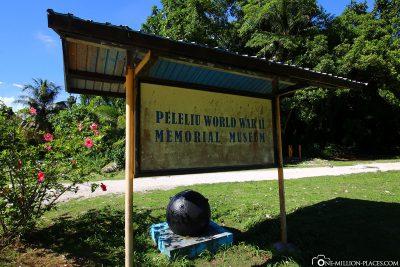 Das Kriegsmuseum auf Peleliu