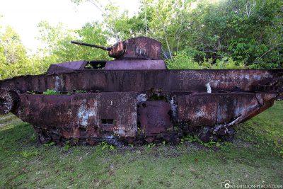 Alter Amerikanischer Panzer