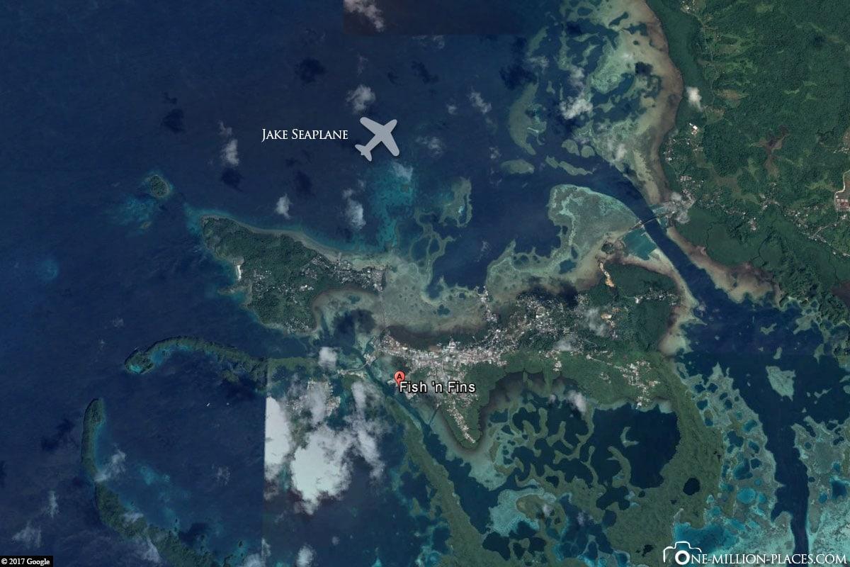 Jake Seaplane, Tauchspot, Flugzeugwrack, Palau, Mikronesien, Südsee, Tauchschule Fish n Fins, Tauchbericht, Reisebericht