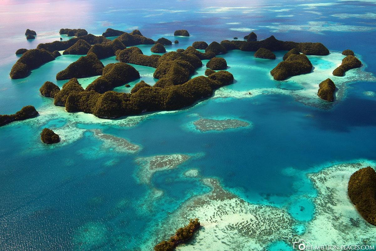 Rock Islands, Palau, Mikronesien, Südsee, Auf eigene Faust, Reisebericht