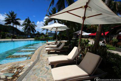 Der Hotelpool