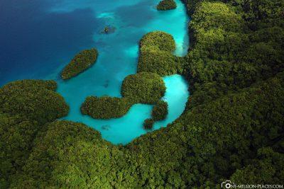 Die Milky Way Lagune