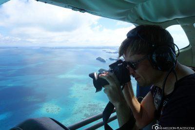 Fotografieren aus dem Flugzeug