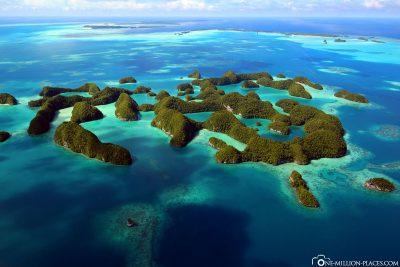 Die Seventy Islands in Palau