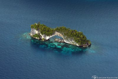 Die Natural Arch in Palau