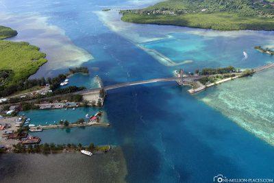 Die Japan-Palau Friendship Brücke